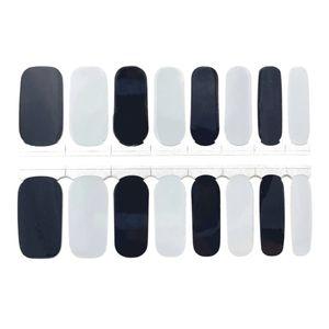 5 for $20 Nail Wraps - Black & Gray